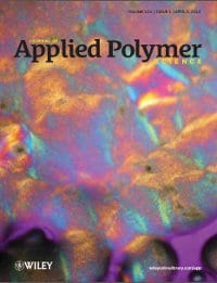 Journal of Applied Polymer Science cover