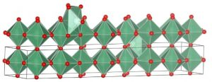 Illustration of form of nobium oxide synthesized by UCLA researchers. UCLA/Nature Materials.