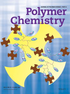 Cover of the Journal of Polymer Science Part A: Polymer Chemistry Volume 51 Issue 12