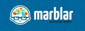 Marblar Logo blue