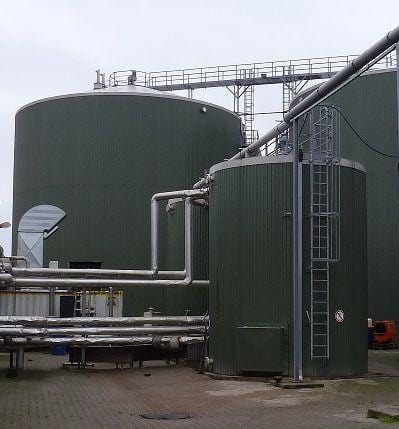 Ceramic Polymer coatings for biogas plants