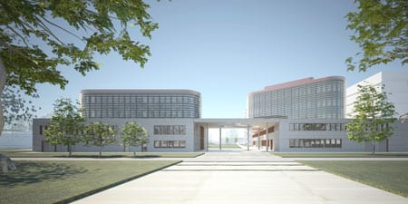 The new building will have an energy-efficient building shell. Source: ValentynArchitekten