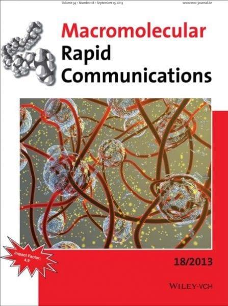 Cover Macromol Rapid Commun