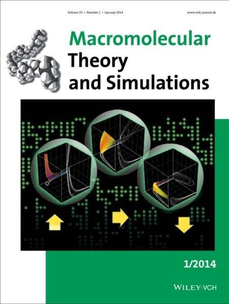 Cover Macromol Theory Simul