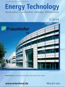 Fraunhofer Cover published