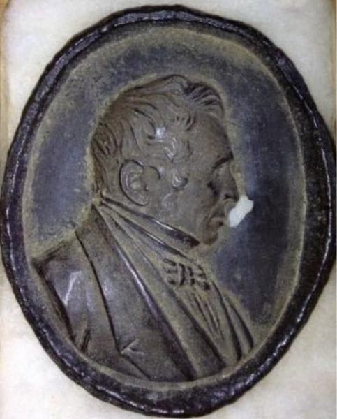 medallion of Charles Goodyear