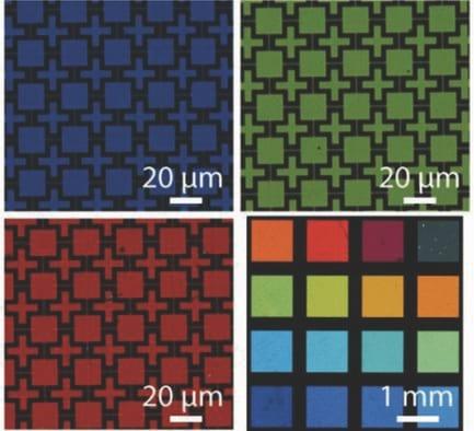 multi-spectral materials