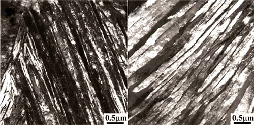 Selective Dissolution of Retained Austenite in Nanostructured Ba