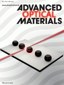 Advanced Optical Materials, Issue 7, 2014 -- Back Cover