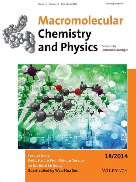 special issue continuing innovation in polyolefin catalysis and materials