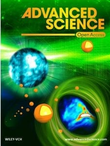 Advanced Science Front Page