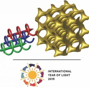 gyroid structured materials