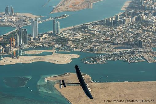 Historic round-the-world flight