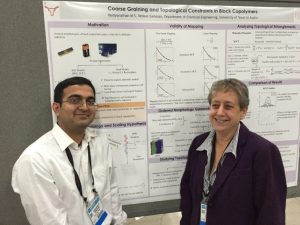 Vaidyanathan Sethuraman (left), Department of Chemical Engineering, The University  of Texas, Austin and Dvora Perahia (right)