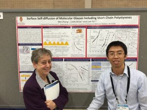 Wei Zhang (right), School of Pharmacy, University of Wisconsin and Dvora Perahia (left)