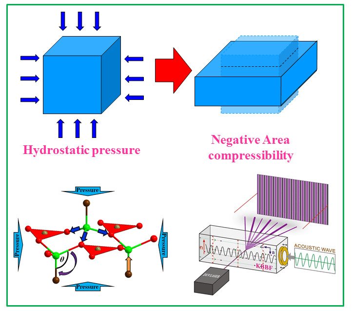 Negative Area Compressibility