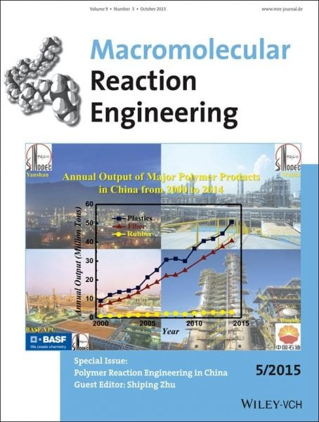 Special Issue Polymer Reaction Engineering in China