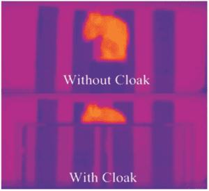 far-infrared invisibility cloak