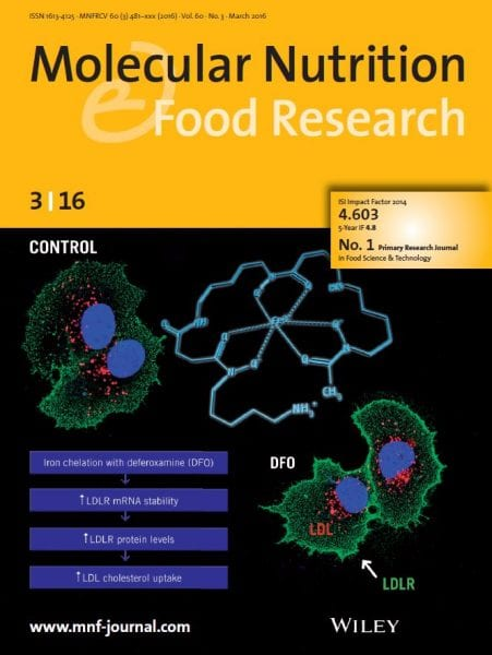 Molecular Nutrition & Food Research back cover March