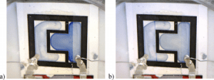 ion-gel films in electrochromic displays
