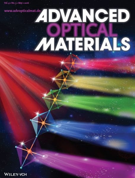 Advanced Optical Materials May back cover