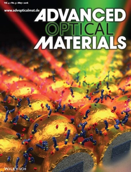 Advanced Optical Materials May front cover