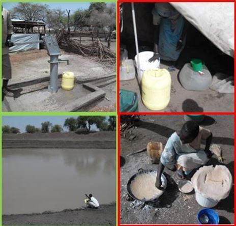 HEV virus outbreak in refugee camp