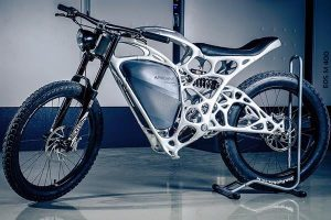 Light Rider is the world's first 3D-printed motorcycle