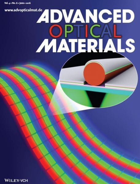 Advanced Optical Materials back cover June