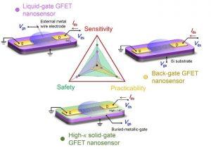 solid-gate-graphene-field-effect-transistor