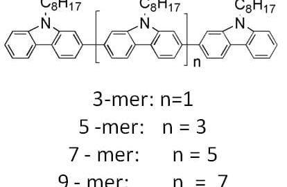 carbazole oligomers