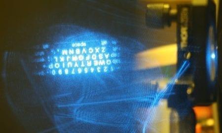 Holographic keyboard