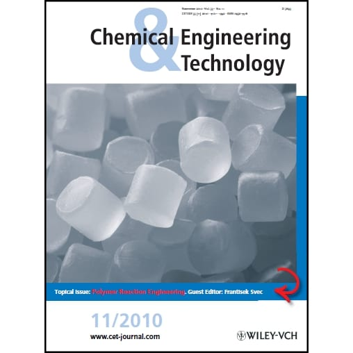 Polymer Reaction Engineering: Topical Issue of Chemical Engineering and Technology