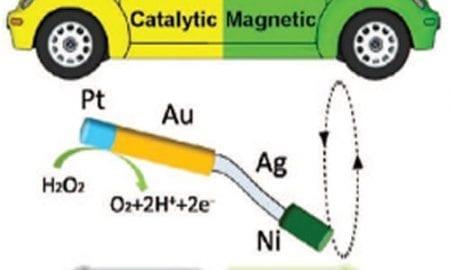 Multifunctional hybrid nanomotors