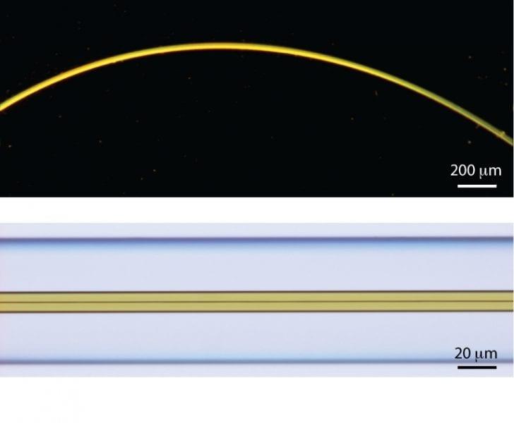 Optical fiber waveguides