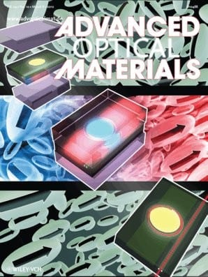 Advanced Optical Materials Issue 1