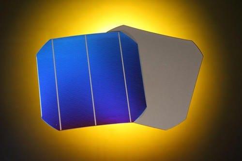 screen printed silicon solar cell