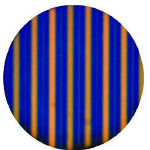 Three-Color Display by Surface Patterning