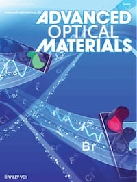 Advanced optical materials impact factor