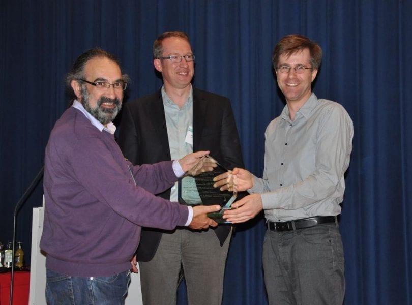 Christopher Barner-Kowollik receives BPG awardx 2012