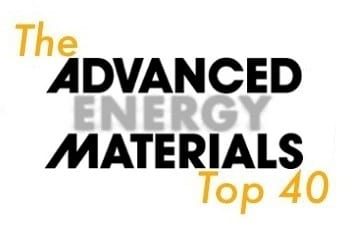 Advanced Energy Materials Top 40 for August 22, 2012