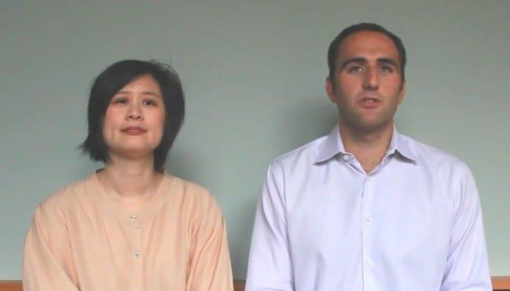 Professors Karen Cheng and Marco Rolandi of the University of Washington