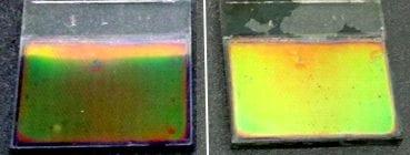 Electrochromic Bragg mirror