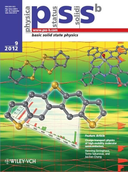 Organic semiconductors – accelerating pace