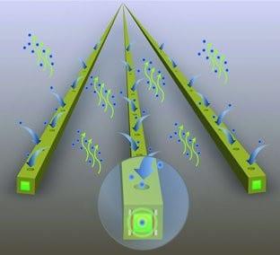 Detection of Explosives: An All-in-Fiber Chemical Sensor for Peroxide Vapors
