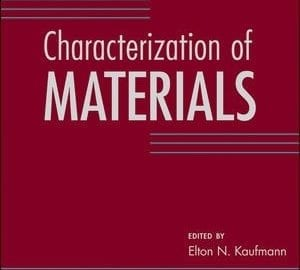 Characterization of materials front cover