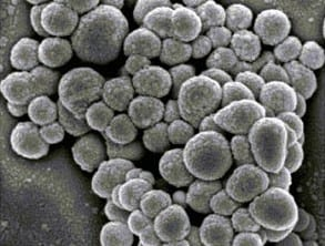 Carbon/polymer nanospheres developed for microelectronics