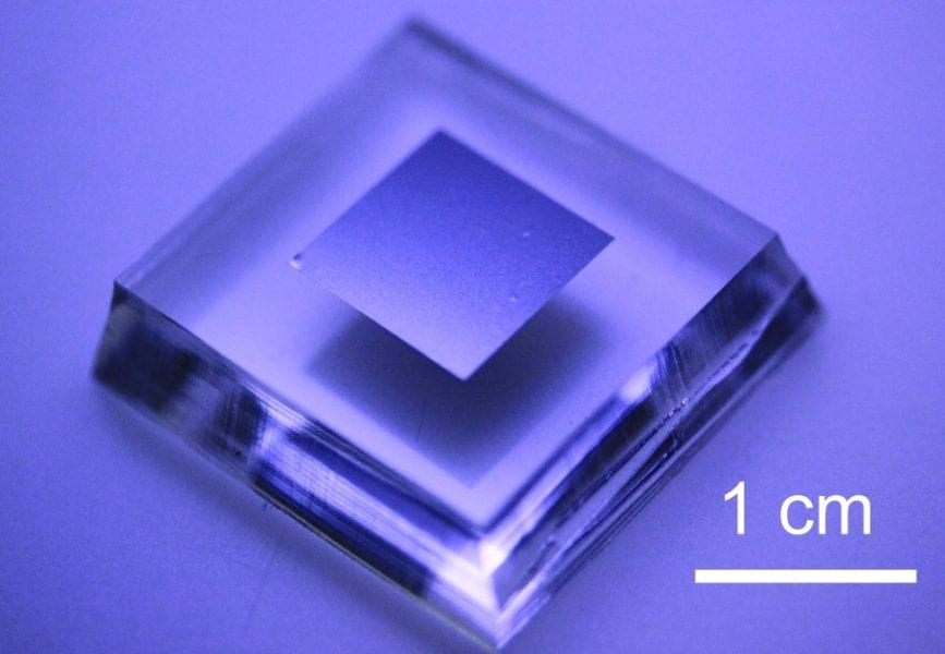 """Fabrication of ultra-thin electronic """"stickers"""""""