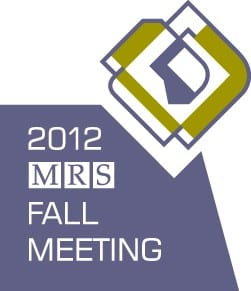 Where Materials Scientists Meet – the 2012 MRS Fall Meeting