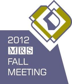 2012 MRS Fall Meeting